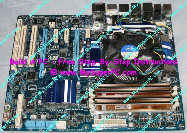 build a pc rh mysuperpc com Gigabyte Motherboards Ultra Durable Gigabyte ATX Motherboard