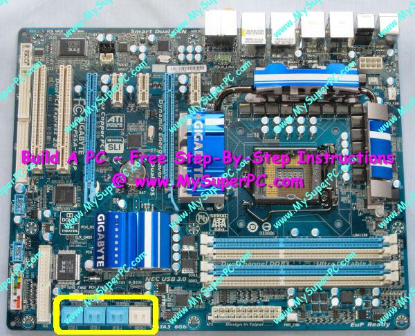 7 Pin Sata Connectors On Motherboard: Install SATA Hard Drive