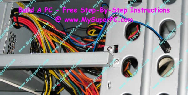 how to connect fans to power supply
