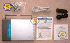 Sharing Cable Modem - D-Link DI-614+ Retail Box Contents