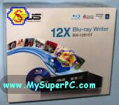 How To Assemble A Computer - PC Assembly Guide, ASUS Blu-Ray DVD RW retail box