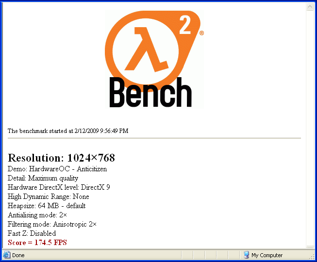 How To Assemble A Computer - Build A Fast Computer - Half-Life 2 Benchmark