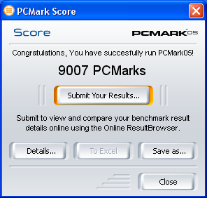 How To Assemble A Computer - Build A Fast Computer - PCMark05 Benchmark