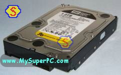 How to build a computer - Western Digital RE4 1 TB SATA hard drive