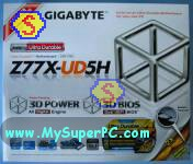 How to build a computer - Gigabyte GA-Z77X-UD5H motherboard retail box