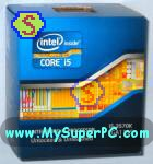 How to build a computer - Intel Core i5 3570k processor retail box