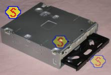 How To Assemble A Computer - PC Assembly Guide, Sony DRU-840A DVD RW Front Panel Removed