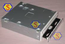 How To Assemble A Computer - PC Assembly Guide, Sony DRU-840A DVD RW Disc Tray Ejected